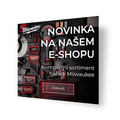 E-shop banner Milwaukee